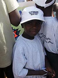 Uganda poiss