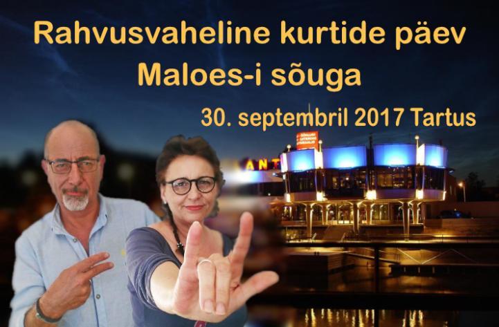 Rahvusvahelise kurtide päeva reklaam 2017